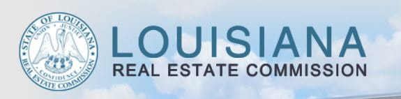 Louisiana Real Estate Commission logo